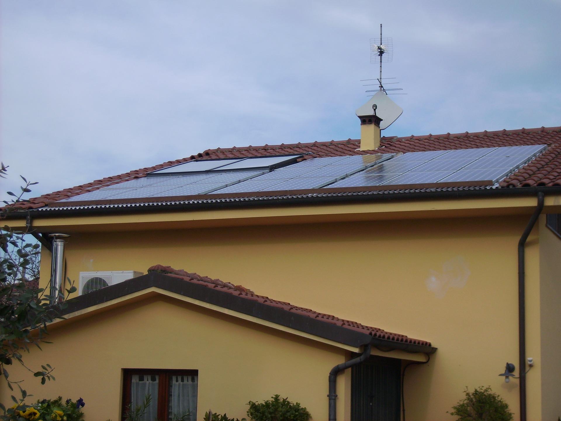 Funktionsweise der Solaranlage
